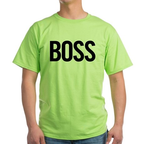 Boss (black) Green T-Shirt
