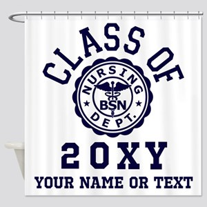 Class Of 20?? Nursing Shower Curtain