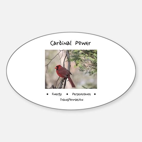 Cardinal Animal Medicine Gifts Decal