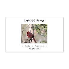 Cardinal Animal Medicine Gifts Wall Decal