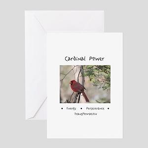 Cardinal Animal Medicine Gifts Greeting Cards