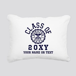 Class of 20?? Nursing Rectangular Canvas Pillow