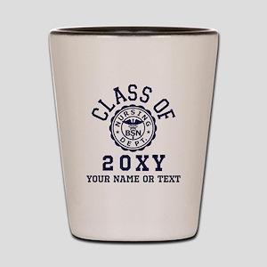Class of 20?? Nursing Shot Glass