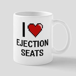 I love Ejection Seats digital design Mugs