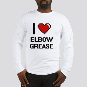 I love Elbow Grease digital de Long Sleeve T-Shirt