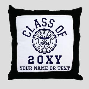 Class of 20?? Nursing Throw Pillow