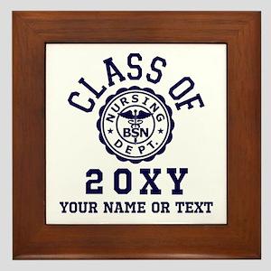 Class of 20?? Nursing Framed Tile