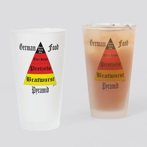 German Food Pyramid Pint Glass