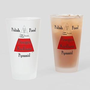 Polish Food Pyramid Pint Glass