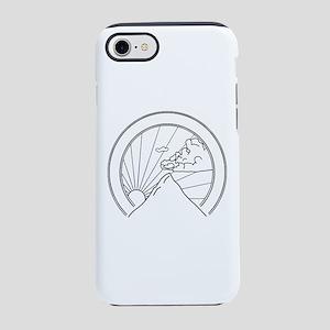 Mountain Sunrise Sunset Seal iPhone 8/7 Tough Case