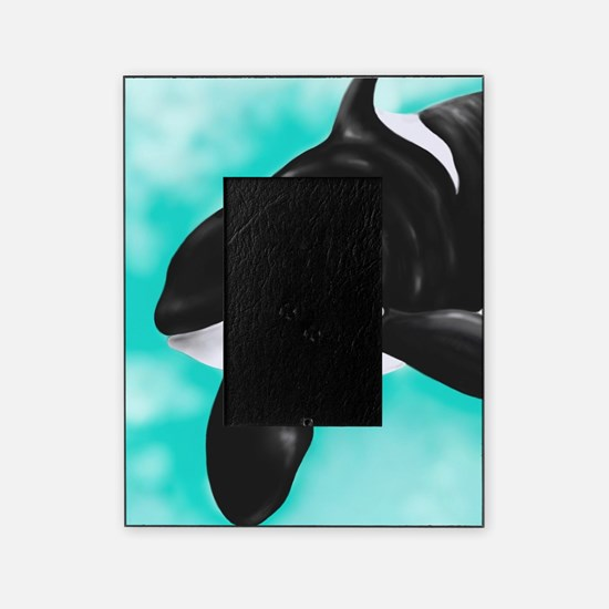 Cute Orca Whale Picture Frame