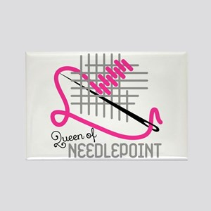 Queen Of Needle Point Magnets