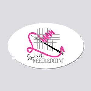 Queen Of Needle Point Wall Decal