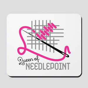Queen Of Needle Point Mousepad