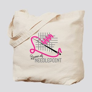 Queen Of Needle Point Tote Bag
