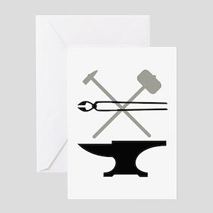 Blacksmith Greeting Cards