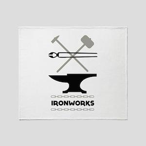 Ironworks Throw Blanket
