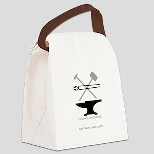 Blacksmith Tools Canvas Lunch Bag