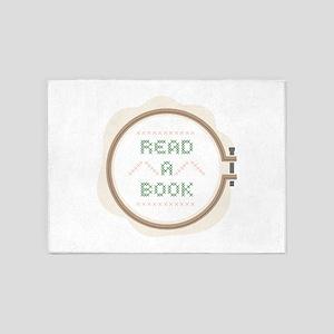 Read A Book 5'x7'Area Rug