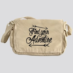 Find Adventure Messenger Bag