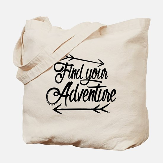 Find Adventure Tote Bag
