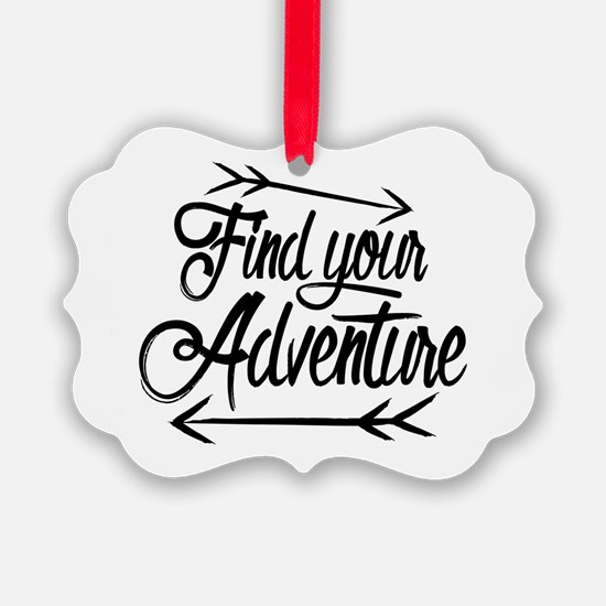Find Adventure Ornament