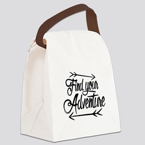 Find Adventure Canvas Lunch Bag