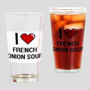 I love French Onion Soup digital de Drinking Glass
