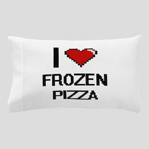 I love Frozen Pizza digital design Pillow Case
