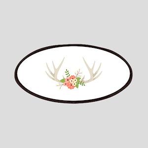 Deer Antler Flowers Patch