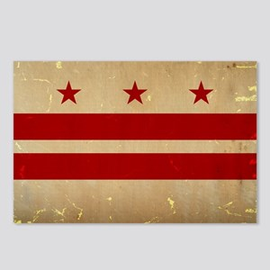 Washington, DC Flag VINTA Postcards (Package of 8)