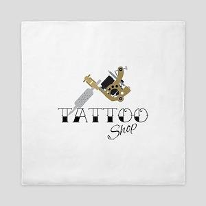 Tattoo Shop Queen Duvet