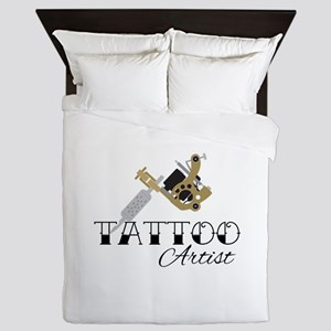 Tattoo Artist Queen Duvet