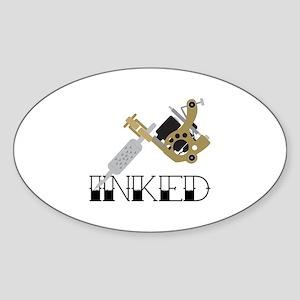 Tattoo Inked Sticker