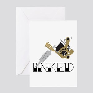 Tattoo Inked Greeting Cards
