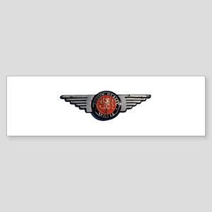 Defunct Logo Bumper Sticker