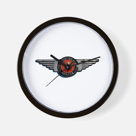 Defunct Logo Wall Clock