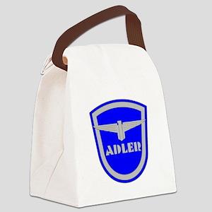 Defunct Logo Canvas Lunch Bag