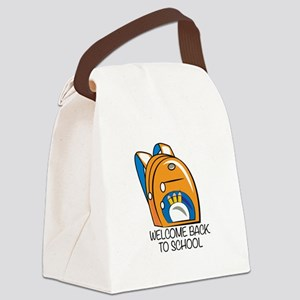 Welcome Back Canvas Lunch Bag