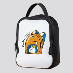 Ready To Study Neoprene Lunch Bag