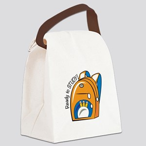 Ready To Study Canvas Lunch Bag
