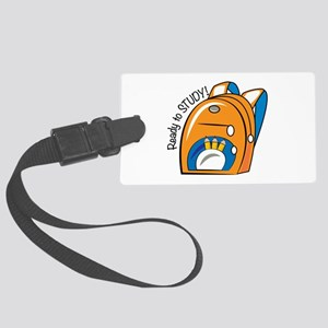 Ready To Study Luggage Tag