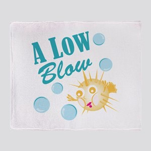 A Low Blow Throw Blanket