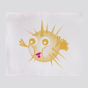 Blowfish Throw Blanket