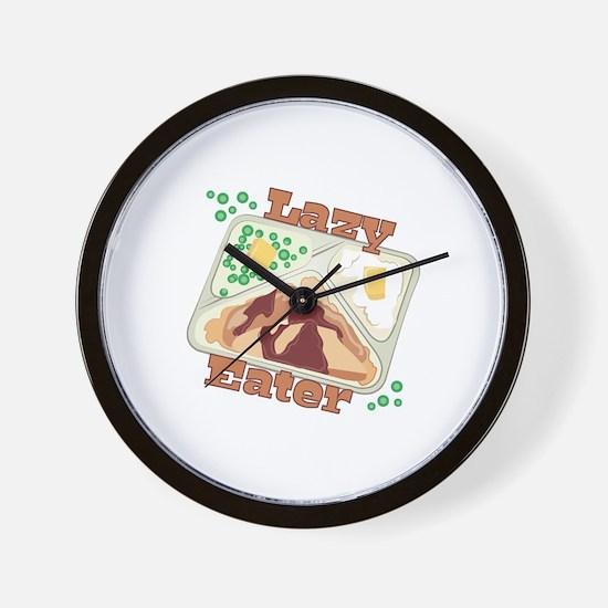 Lazy Eater Wall Clock