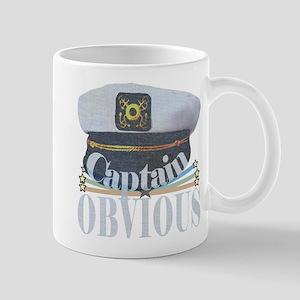 Captain Obvious Mugs