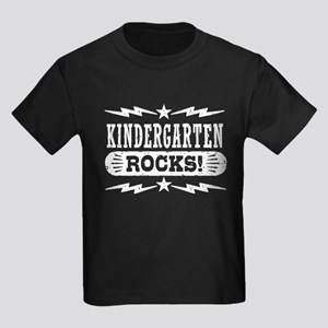 Kindergarten Rocks Kids Dark T-Shirt