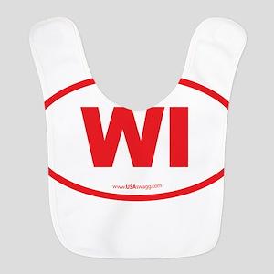 Wisconsin WI Euro Oval Bib