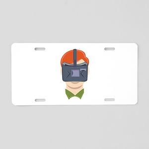 Virtual Reality Aluminum License Plate