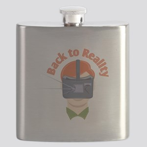 Back To Reality Flask